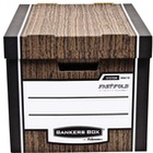 PUDŁO FELLOWES WOODGRAIN FAST FOLD