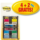 ZAKŁADKI POST-IT 25 X 43 MM 680-VAD5EU + 12 X 43 MM MIX KOLOR (4 X 50 + 2 X 24)
