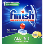 TABLETKI DO ZMYWARKI FINISH ALL in 1 LEMON (50)