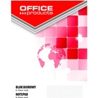 BLOK BIUROWY OFFICE PRODUCTS, A4, W KRATKĘ, 50 KART., 70GSM