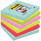 KARTECZKI POST-IT SUPER STICKY 76 X 76 MM MIX KOLOR