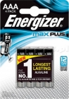 BATERIE ENERGIZER MAX PLUS AAA LR03 (4)