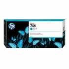 Tusz HP 746 do Designjet Z6/Z9 | 300ml | Cyan
