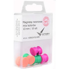 MAGNESY DO TABLIC VICTORY 13 MM MIX KOLOR (10)