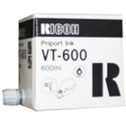 Tusz Ricoh VT600 do VT 830/950/1730/1800/2105/2200/2250/2300 | 600ml | black