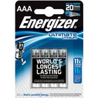 BATERIE ENERGIZER ULTIMATE LITHIUM AAA (4szt)